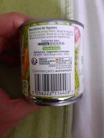Macedoine de legume - Instruction de recyclage et/ou informations d'emballage - fr