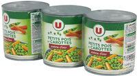 Petits pois extra-fins et carottes à l'étuvée - Produit