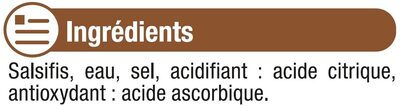 Salsifis - Ingrédients