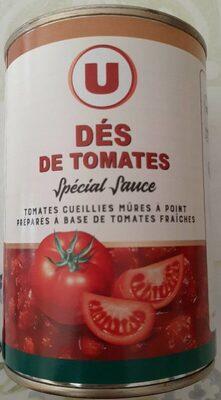 Pulpe de tomates en dés - Product - fr