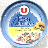 Thon Entier à l'Huile de Tournesol - Produit