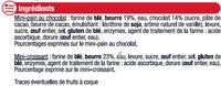 Mini vennoiseries assorties - Ingredients