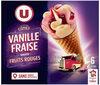 Cônes vanille fraise - Produit