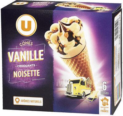 Cônes à la vanille - Product