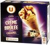 Cônes crème brûlée - Product