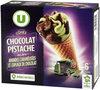 Cônes Chocolat Pistache - Produit