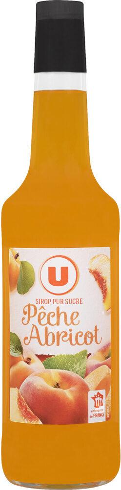 Sirop de recette gourmande pêche/abricot - Product - fr