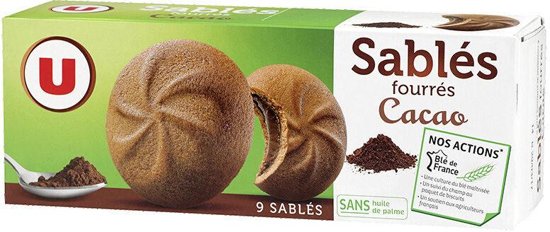 Sablés fourrés au cacao - Product