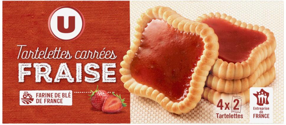 Tartelettes carrées à la fraise - Product - fr