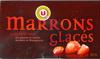 Marrons glacés gros morceaux, aux gousses vanille bourbon de Madagascar - Product