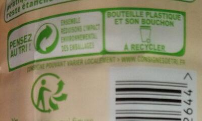 Lait entier - Instruction de recyclage et/ou informations d'emballage - fr