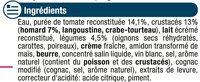 Bisque de Homard - Ingrediënten