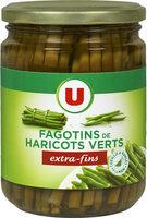 Haricots verts extra-fins en fagot cueillis et rangés à la mains - Product