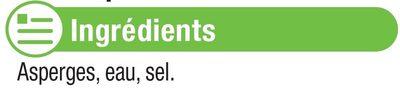 Asperges Vertes moyennes - Ingrédients