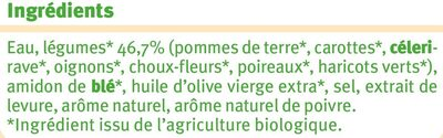 Velouté 7 légumes - Ingredients - fr