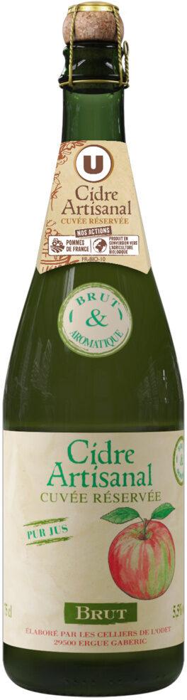Cidre brut artisanal 5,5° - Product - fr