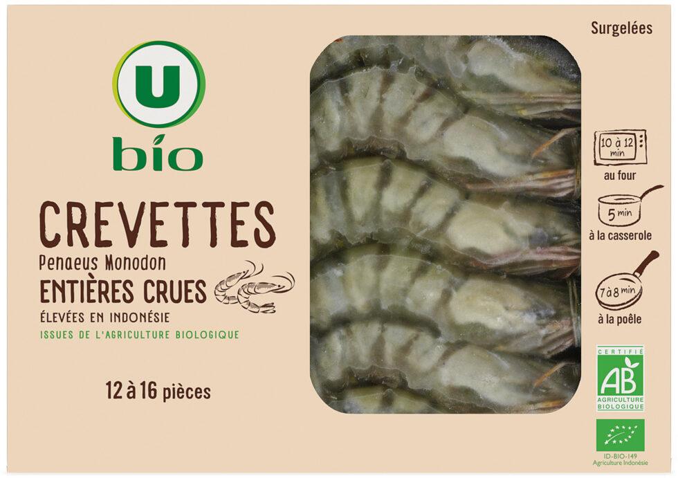 Crevettes entières crues - Product - fr