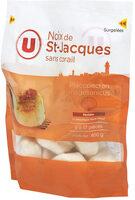 Noix de St Jacques sans corail pêchés en Atlantique - Produit