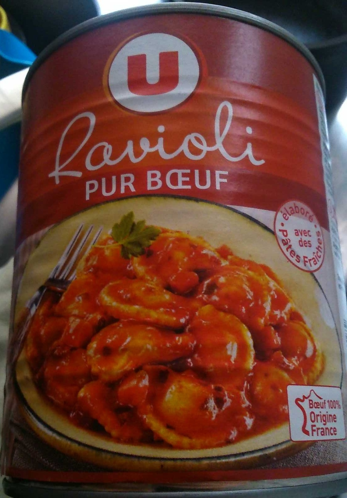 Ravioli, Pur Bœuf - Produit - fr