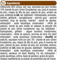 Choucroute garnie - Ingredients - fr
