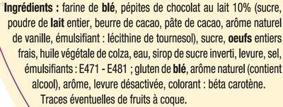 Couronne des rois briochée aux pépites de chocolat au lait - Ingrediënten - fr