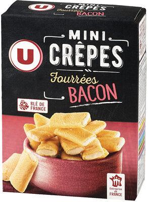 Mini crêpes fourrées goût bacon - Produit