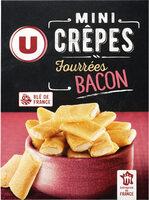 Mini crêpes fourrées goût bacon - Produit - fr