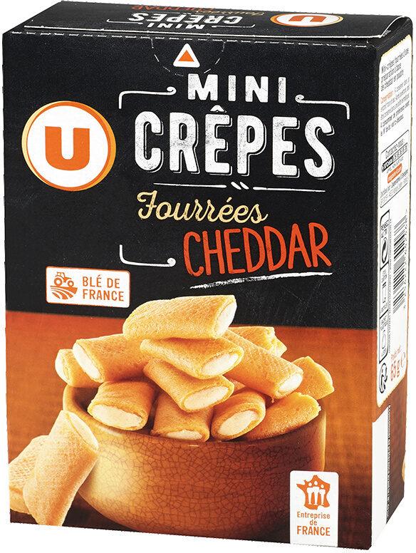 Mini crêpes fourrées au fromage cheddar - Product