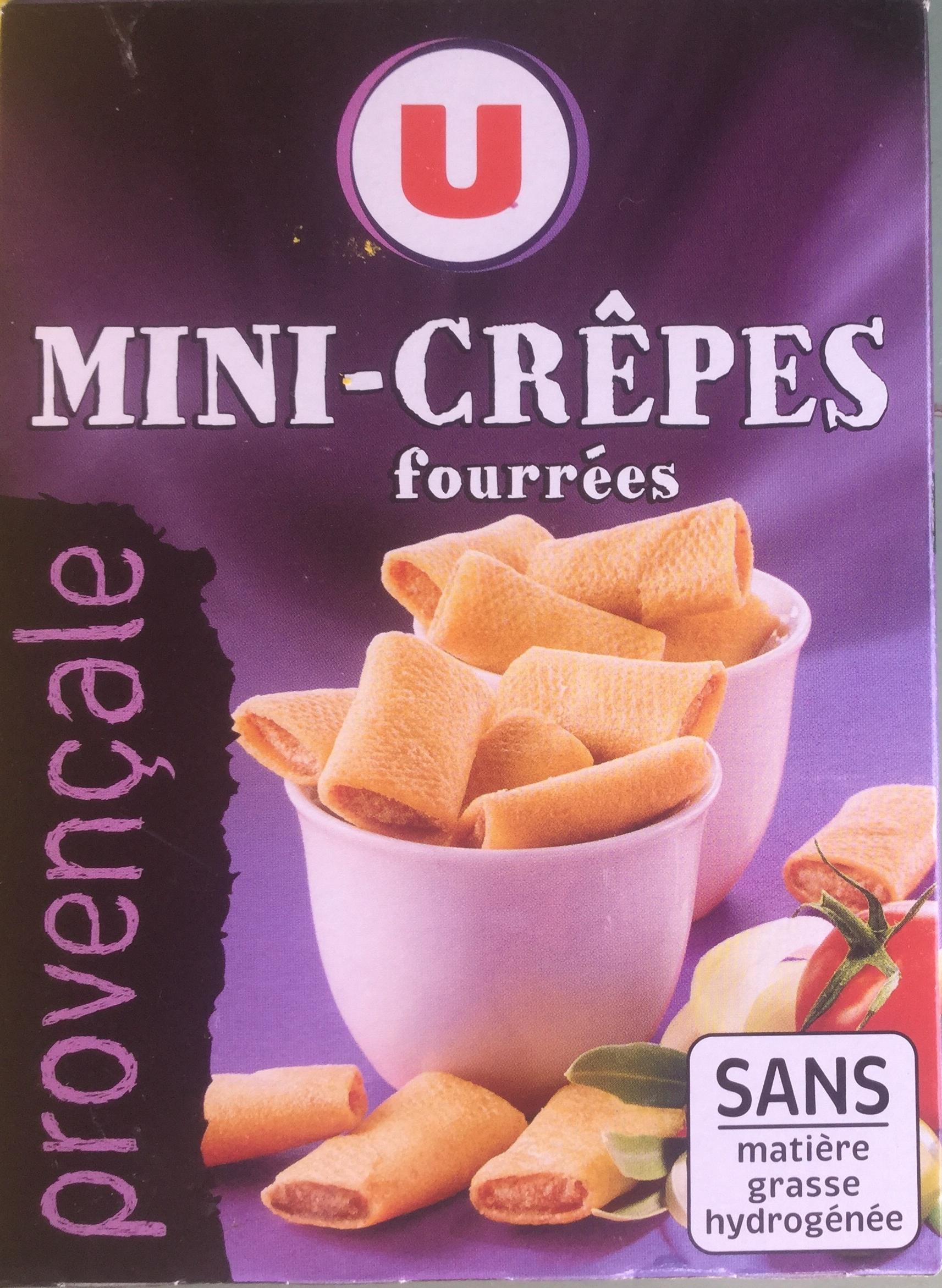 Mini-crêpes fourrées provençale - Product