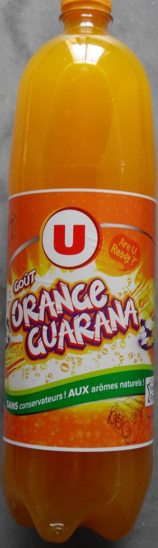 Orange Guarana - Produit