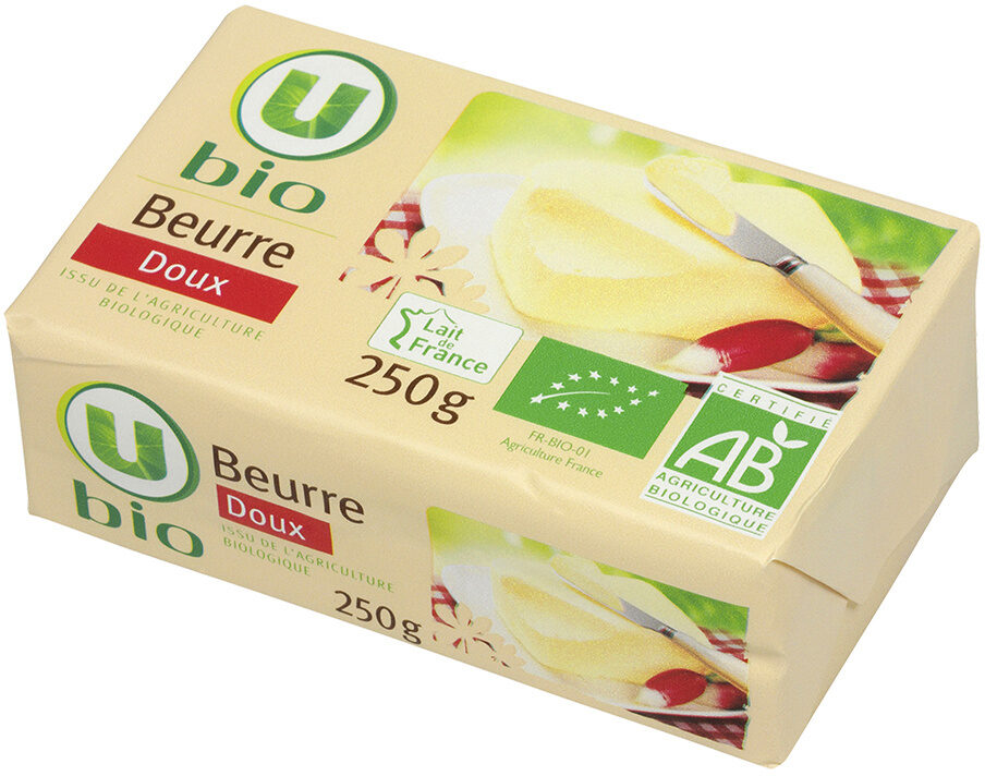 Beurre doux  82% de MG - Product