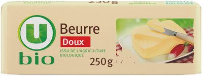 Beurre doux 82% de MG - Produit