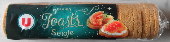 Pain de mie - Toasts - au Seigle - Product