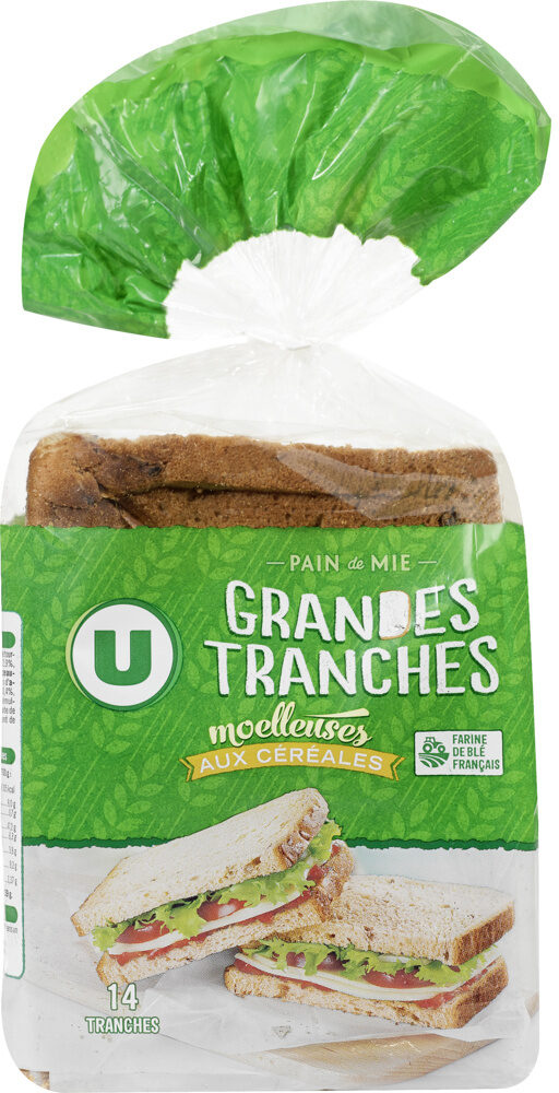 Pain de mie grandes tranches aux céréales - Prodotto - fr