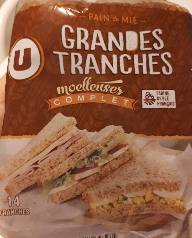 Pain de mie sandwich complet - Produit - fr