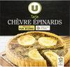 Tarte chèvre et épinards - Produit
