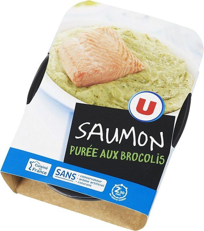 Saumon purée aux brocolis - Produit - fr