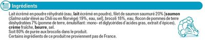 Saumon purée aux brocolis - Ingrédients - fr