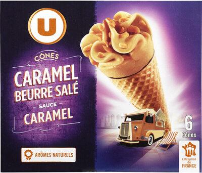 Cônes caramel beurre salé - Product - fr