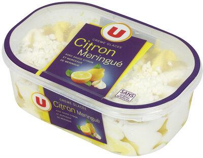 Crème glacée façon citron meringué - Product