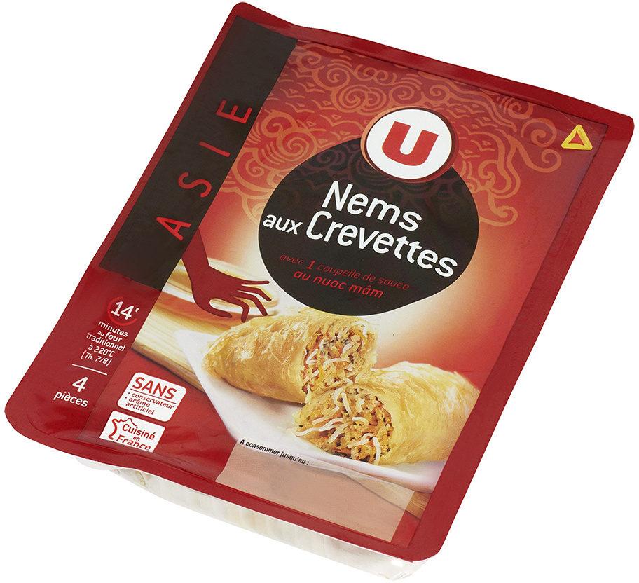 nems aux crevettes x4 sauce nuoc mam u 290 g. Black Bedroom Furniture Sets. Home Design Ideas