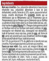 Nems aux crevettes x4 + sauce nuoc mam - Ingredients - fr