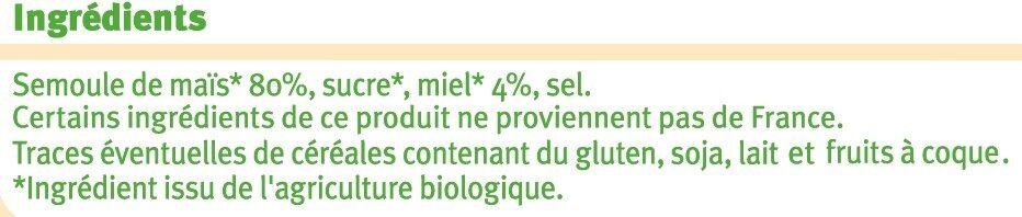 Boules Enrobées au Miel - Ingrédients - fr