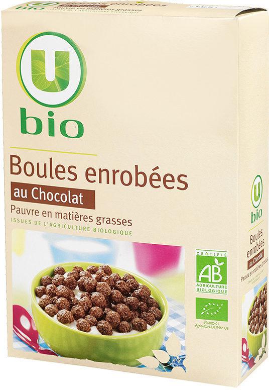 Boules enrobées au chocolat - Product