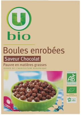 Boules enrobées saveur chocolat - Product - fr