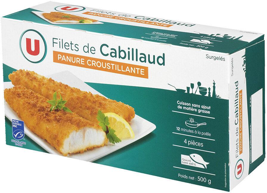 Filets de cabillaud panés - Produit