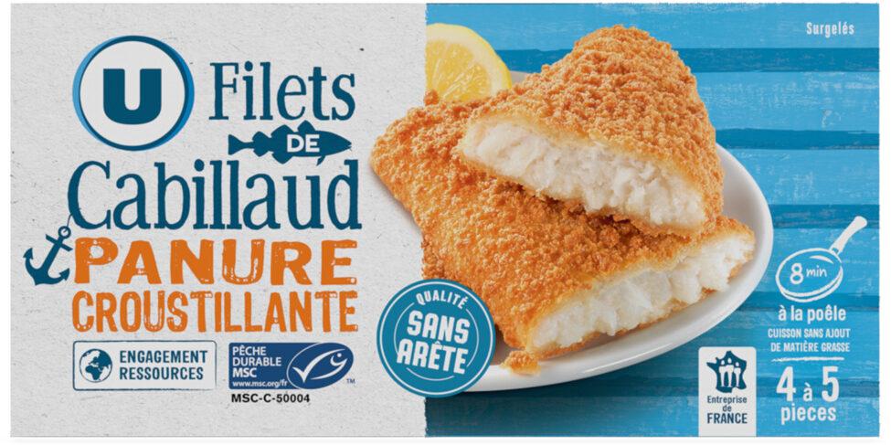 Filets de cabillaud panure croustillant MSC - Product - fr