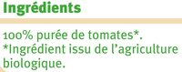 Coulis tomate - Ingrediënten - fr