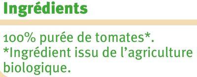 Coulis tomate - Ingredients - fr