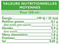 Coulis tomate - Voedingswaarden - fr